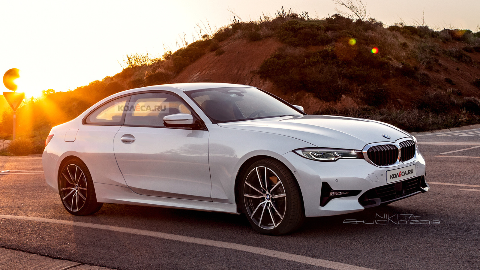 BMW 4 Series Render looks like a 3 Series mixed with an 8 Series