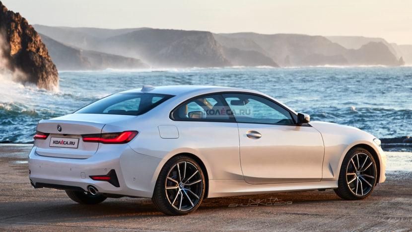 BMW 4 Series Render 2 830x467