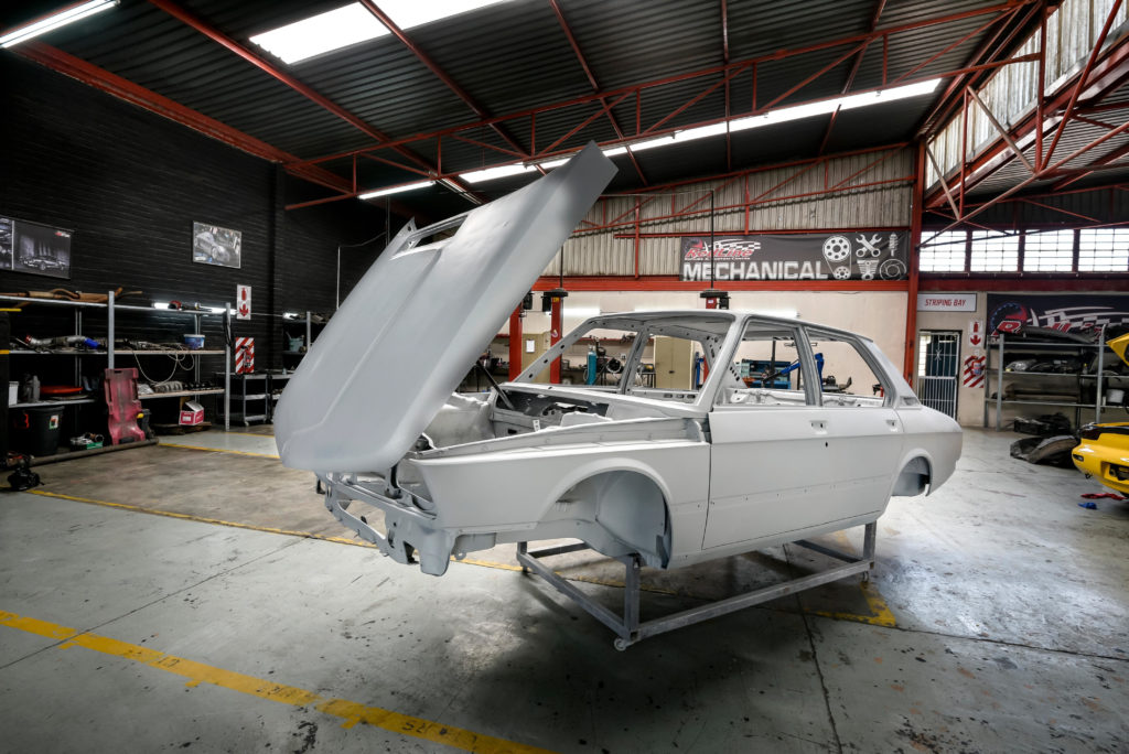 BMW South Africa has started its restoration of the E12 BMW 5 Series