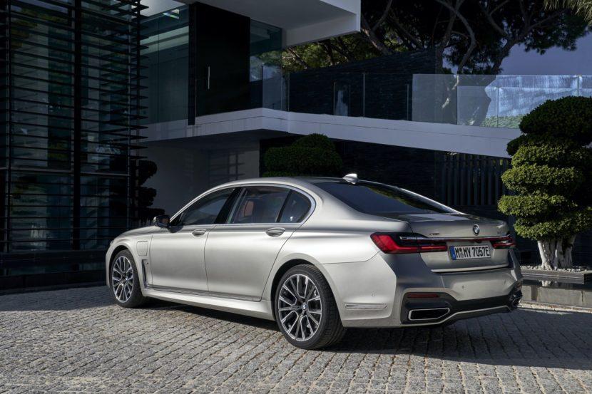 BMW 745Le hybrid test drive 12 830x553