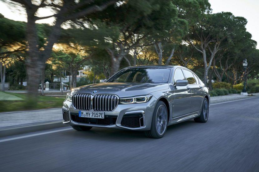 BMW 745Le hybrid test drive 24 830x553