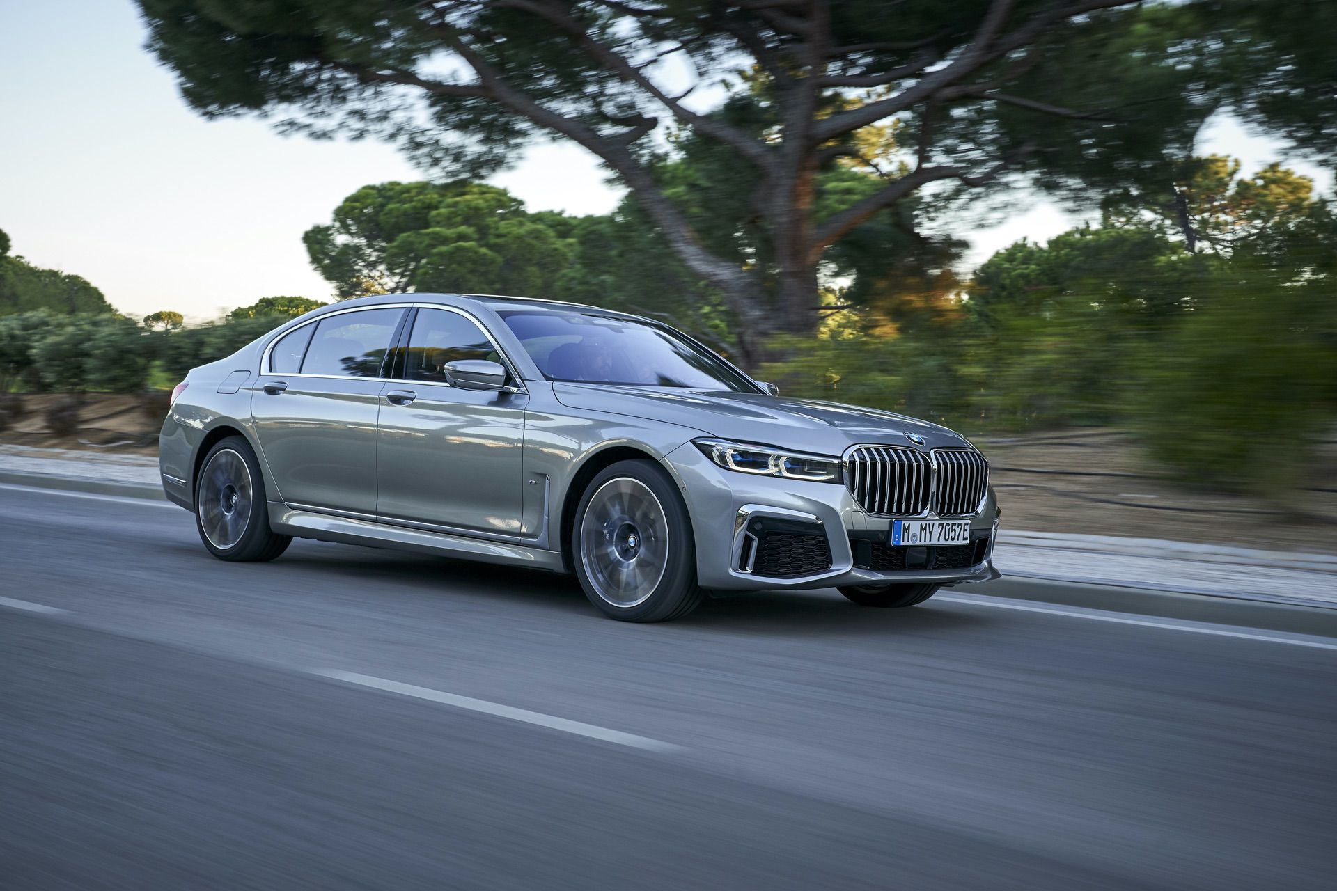 BMW 745Le hybrid test drive 27