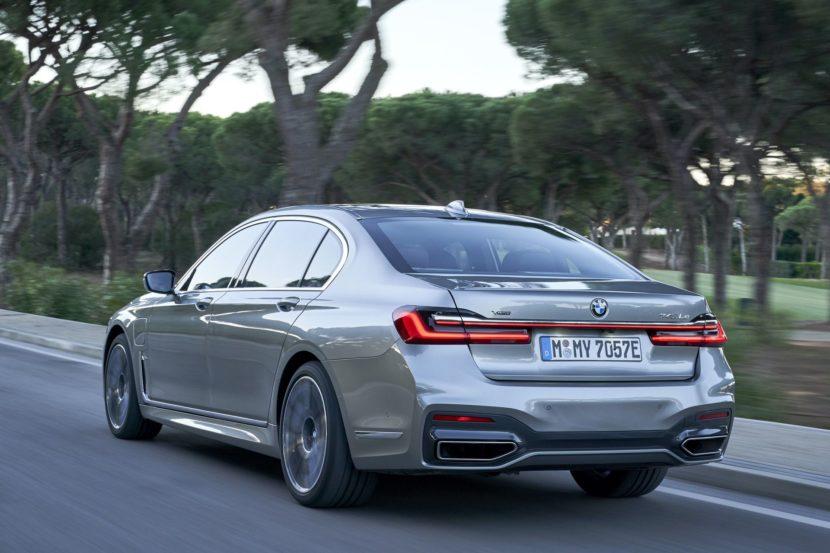 BMW 745Le hybrid test drive 32 830x553