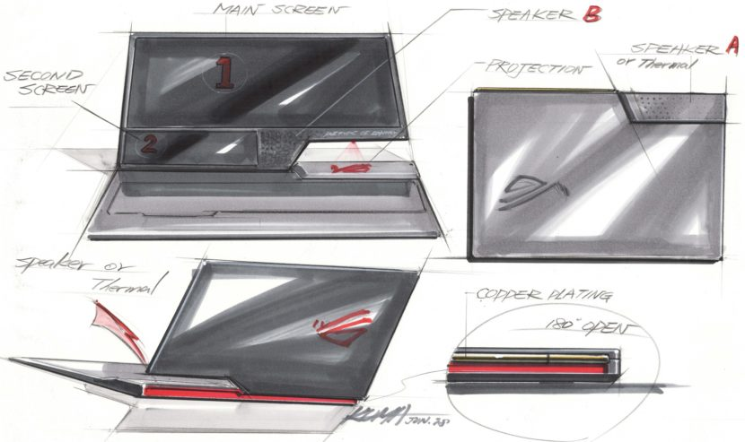 BMW Designworks ASUS ROG Gaming Laptop 3 830x493