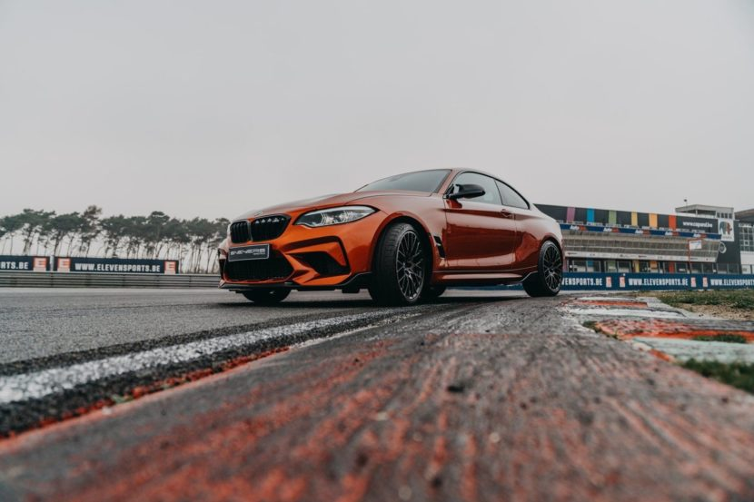 BMW M2 Competition Sunset Orange M Performance Parts 01 830x553