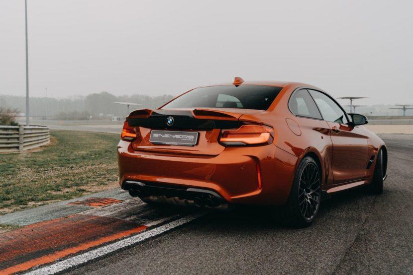 BMW M2 Competition Sunset Orange M Performance Parts 04 830x554