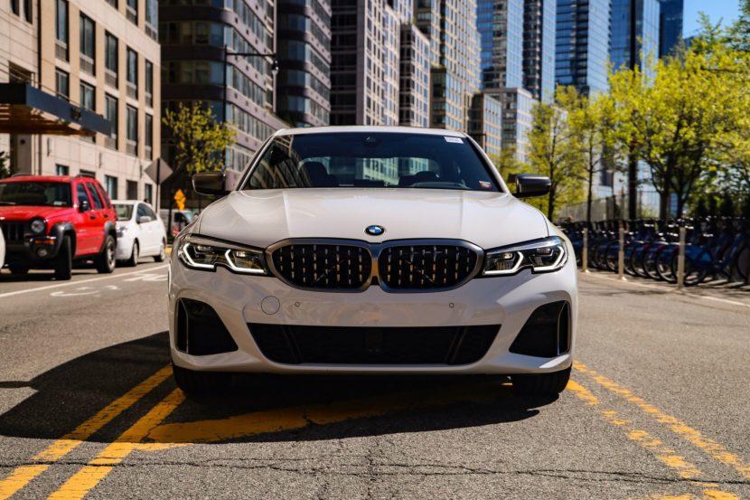 BMW M340i white 20 830x553