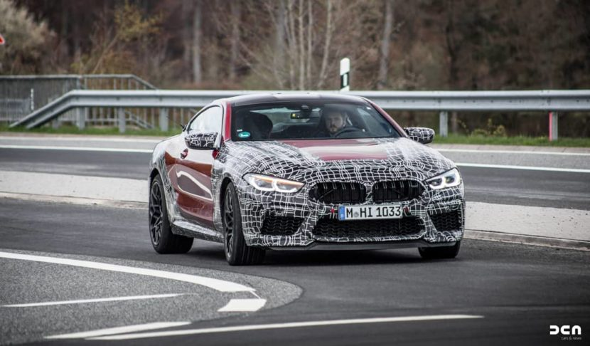 2020 BMW M8 Spotted Nearly Camo Free