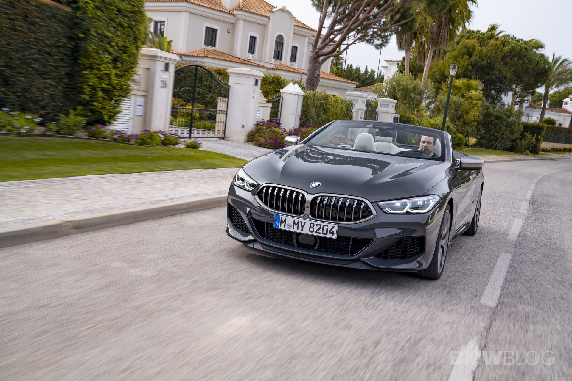 BMW M850i convertible review 01