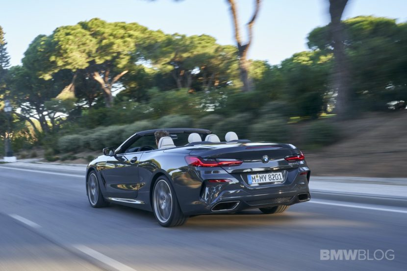 BMW M850i convertible test drive 39 830x553