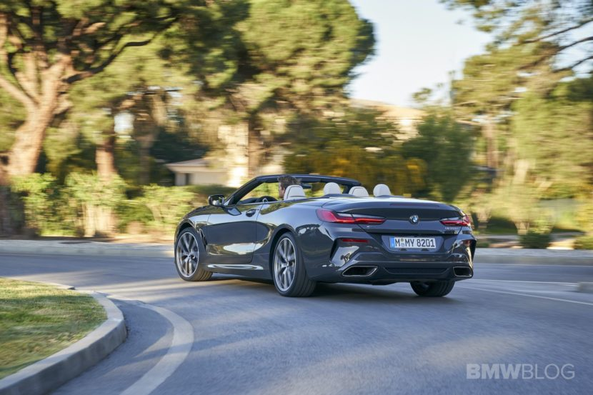 BMW M850i convertible test drive 40 830x553