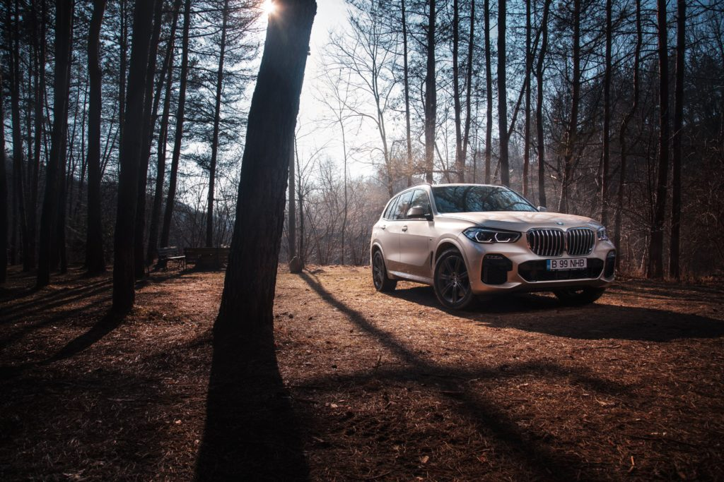 We take the New BMW X5 for a photoshoot in Romania