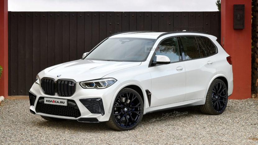 BMW X5M F95 rendering 1 830x467
