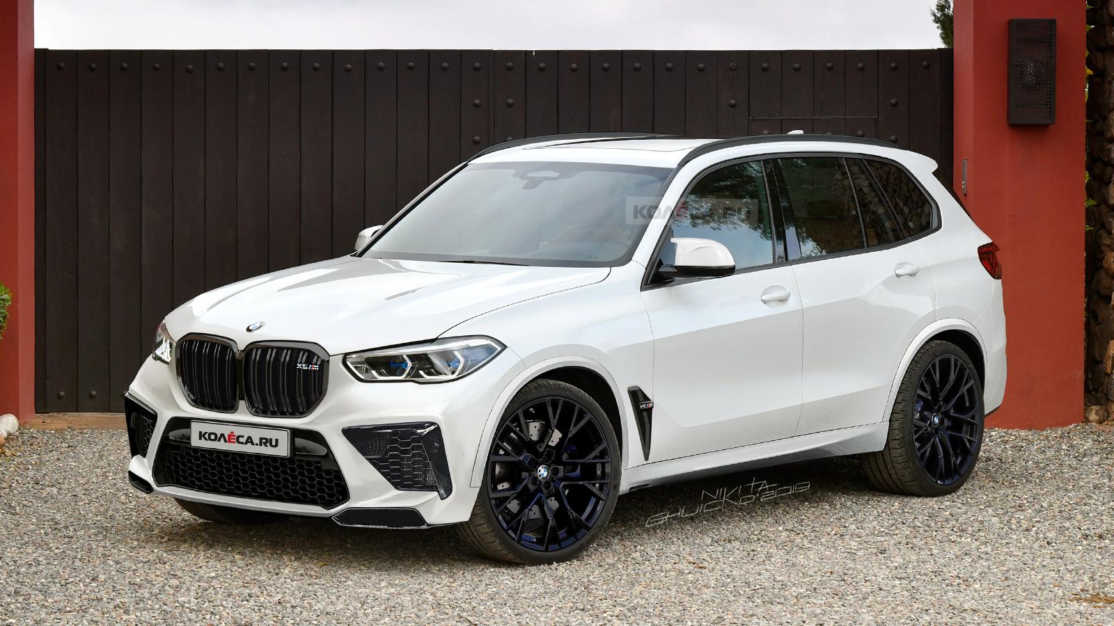 BMW X5M F95 rendering 1