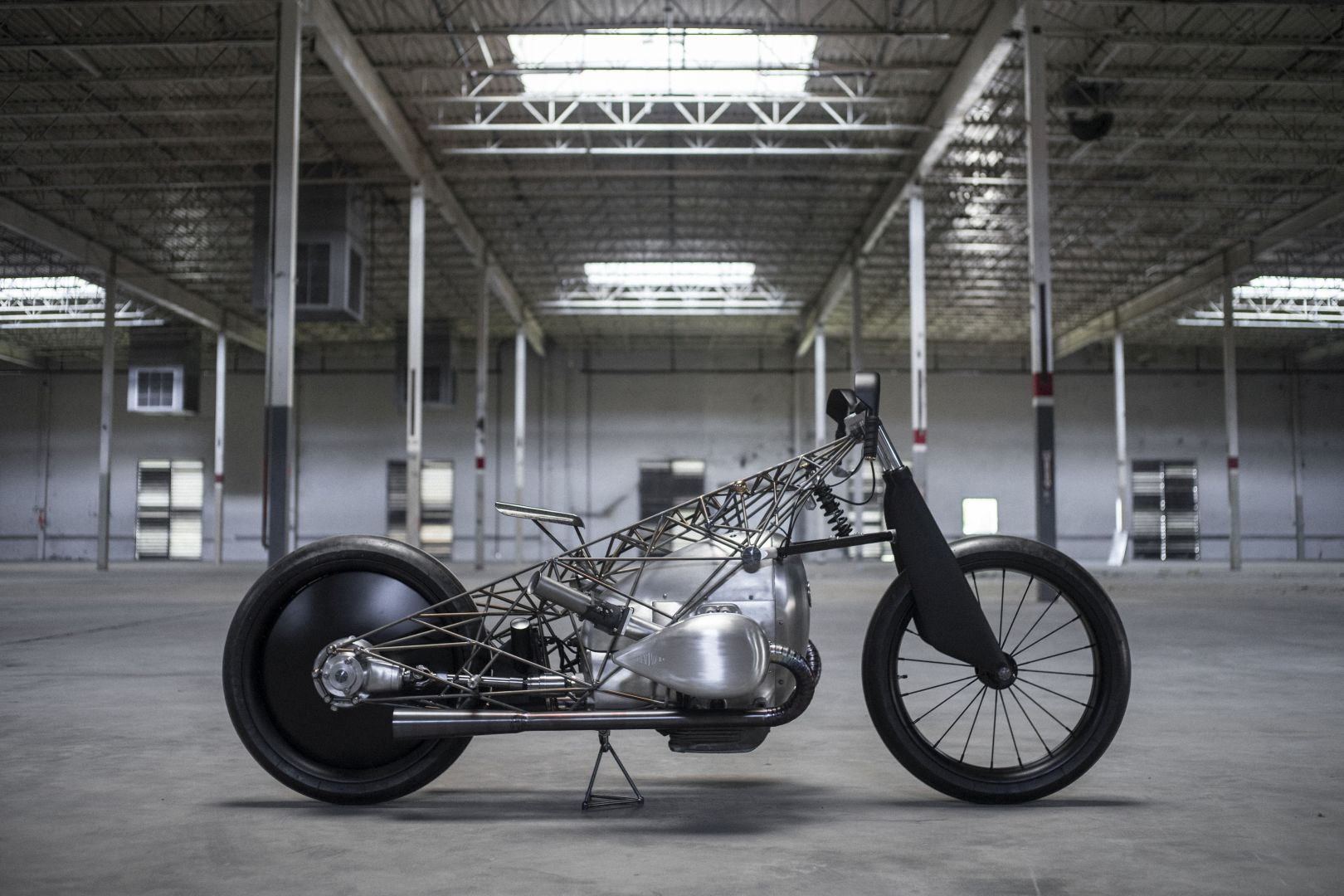 Revival Birdcage Is One Hell of a Custom BMW Bike from Revival Cycles