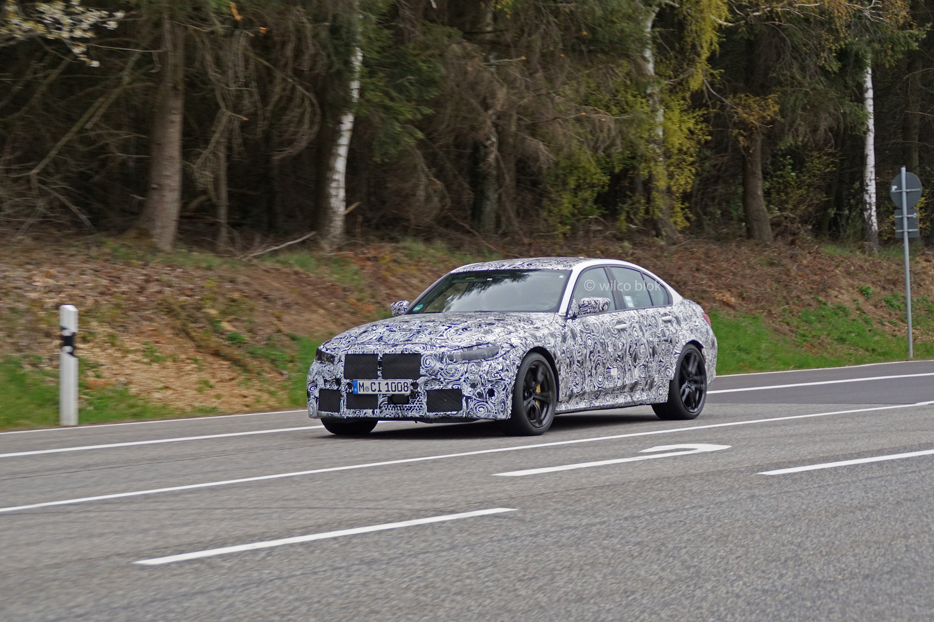 G80 BMW M3 Spy Photos 1
