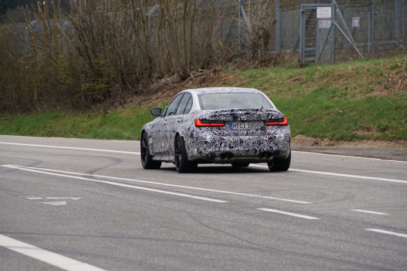 G80 BMW M3 Spy Photos 2 830x553