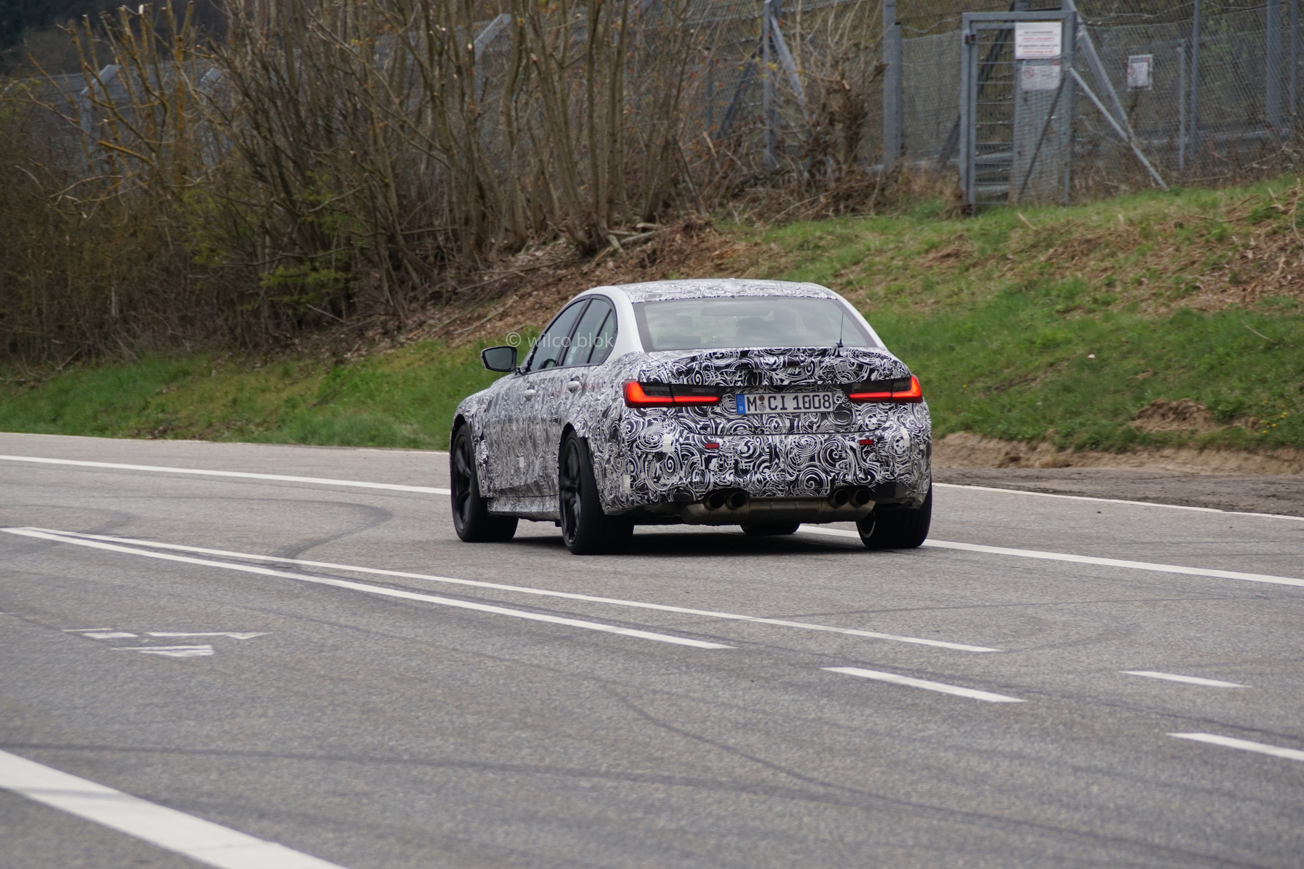 G80 BMW M3 Spy Photos 2