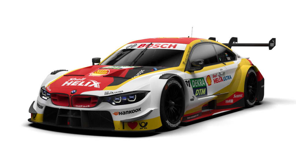 Shell BMW M4 DTM Livery for 2019 Season Unveiled