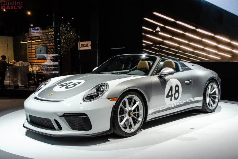 Porsche 911 Speedster New York Auto Show 1 of 6 830x553