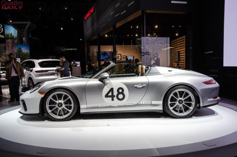 Porsche 911 Speedster New York Auto Show 4 of 6 830x550