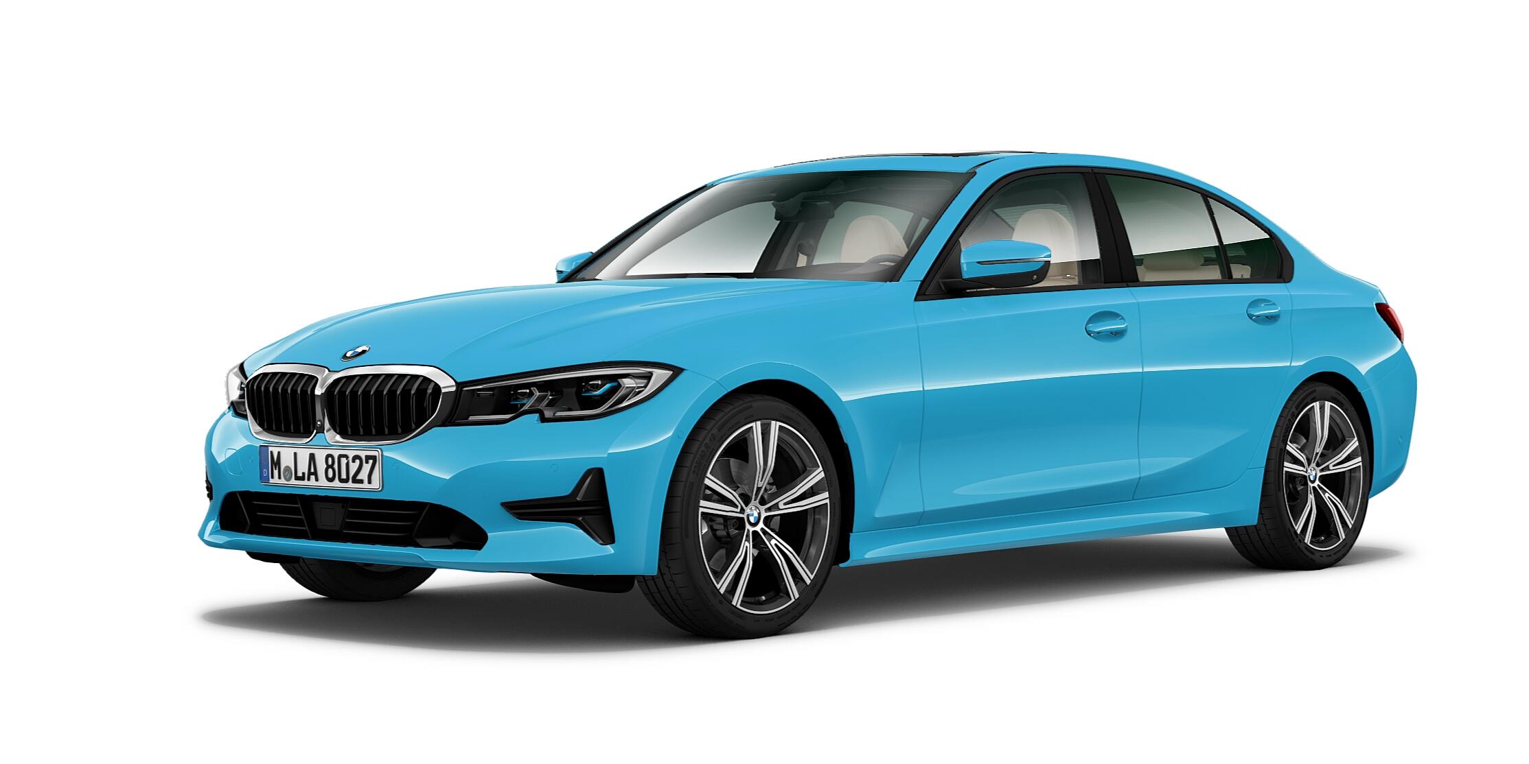Riviera Blue BMW