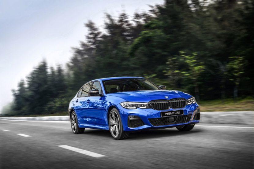 long wheelbase version of the new BMW 3 Series Sedan 07 830x553