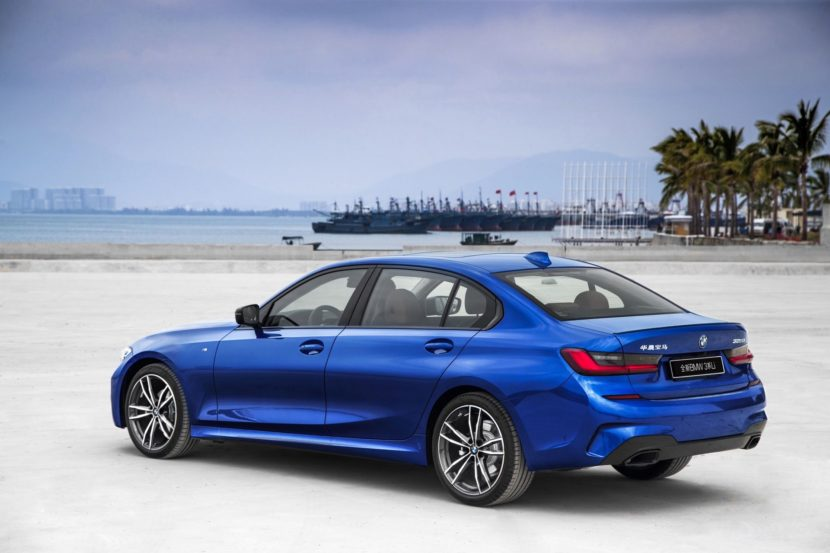 long wheelbase version of the new BMW 3 Series Sedan 08 830x553