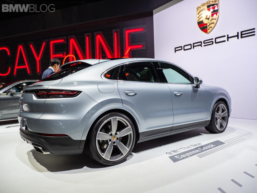 2019 Shanghai Motor Show The New Porsche Cayenne Coupe