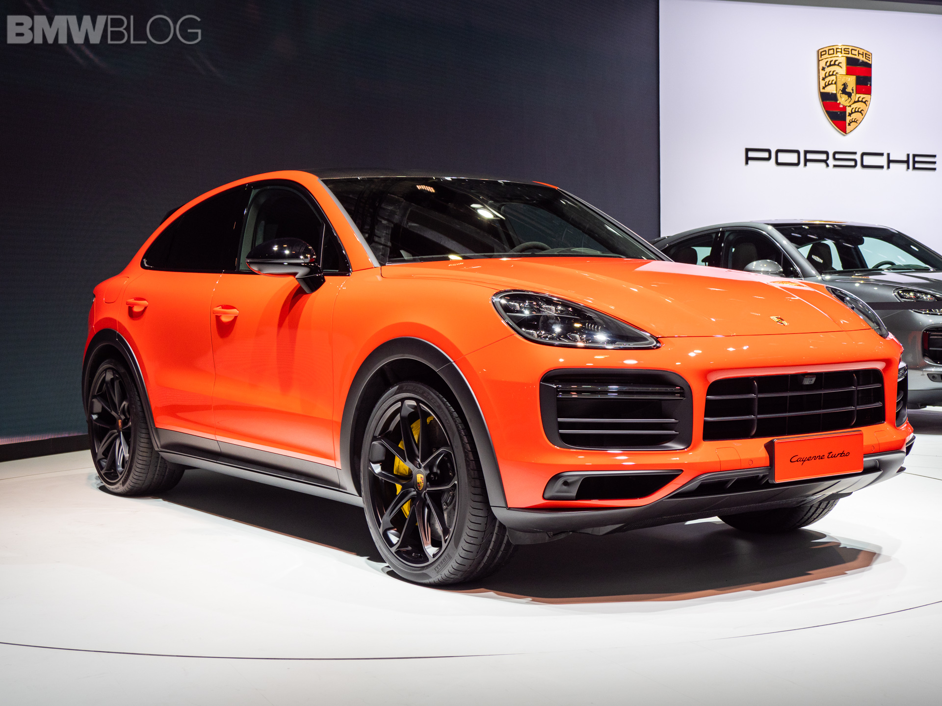 2019 Shanghai Motor Show The New Porsche Cayenne Coupe Makes Its Debut