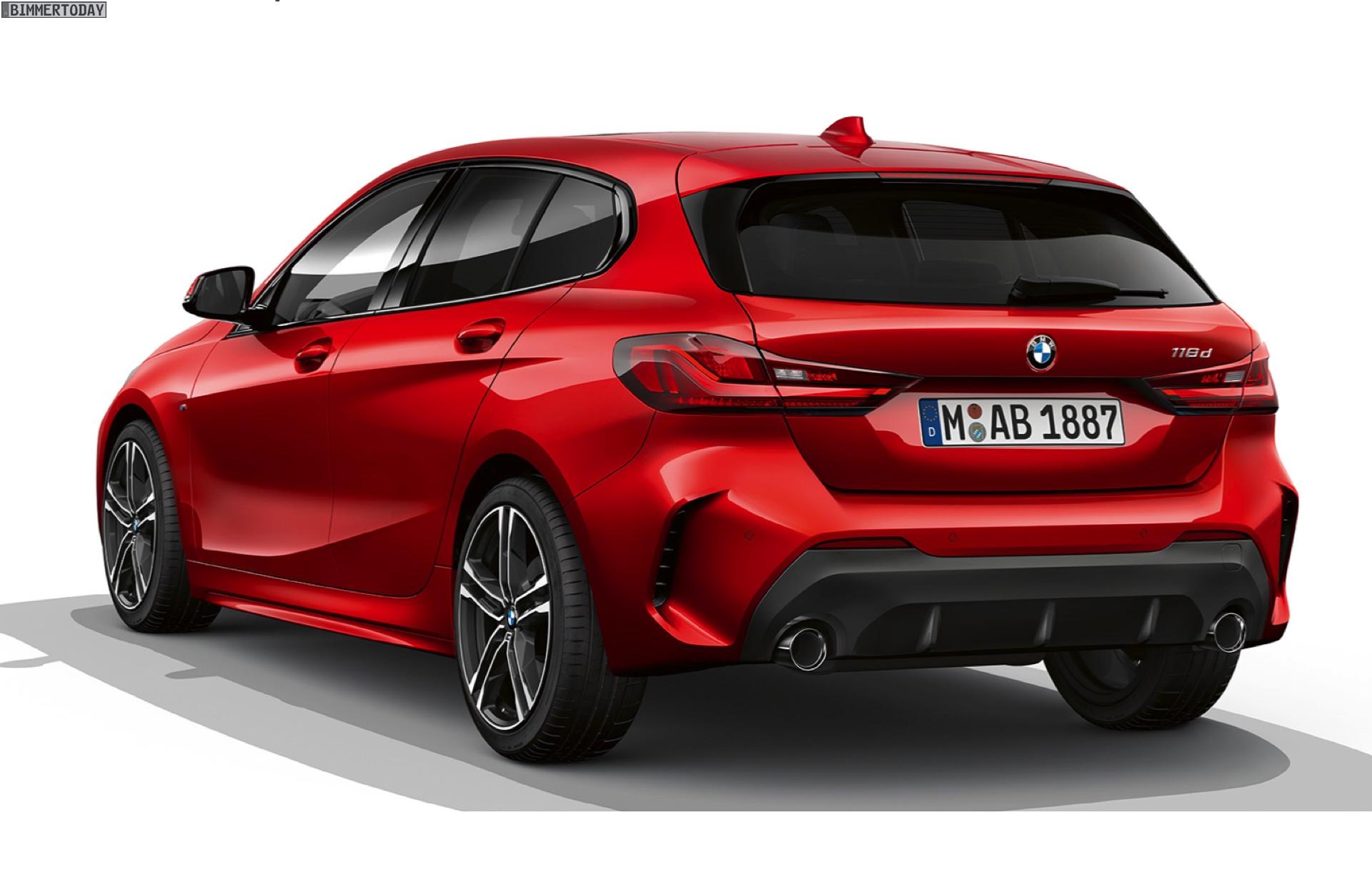 2019 Bmw 1 Series F40 M Sports Sport Line Luxury Line In Comparison