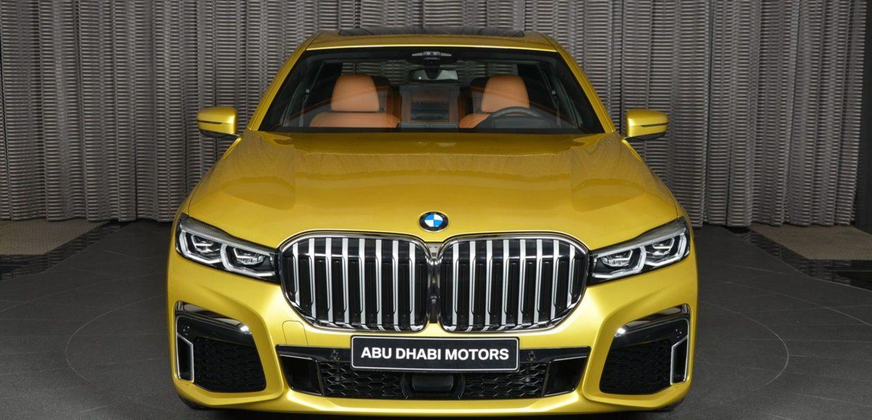2019 BMW 7 Series Austin Yellow 11 1260x608