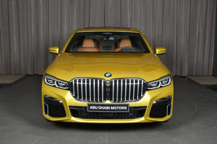 2019 BMW 7 Series Austin Yellow 11 830x553