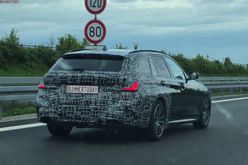 2019 BMW M340i Touring spy 2 830x555