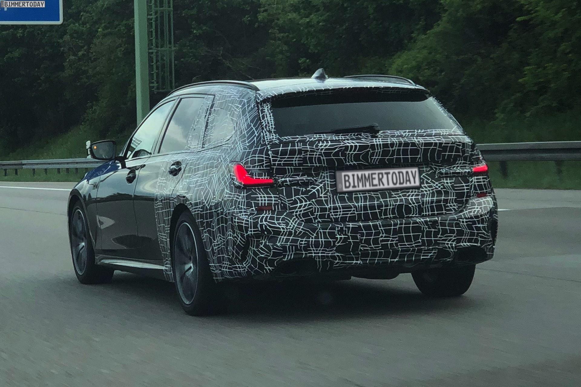 2019 BMW M340i Touring spy 4