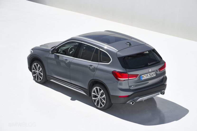 2019 BMW X1 Facelift 11 830x553