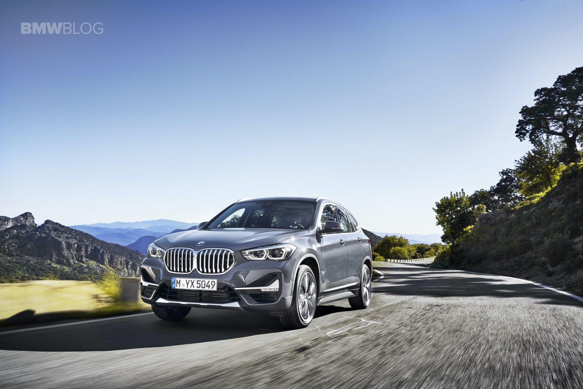 2019 BMW X1 Facelift exterior 01