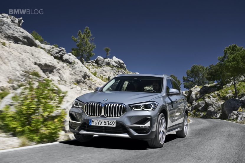 World Premiere 2019 Bmw X1 Facelift With Larger Kidney Grilles