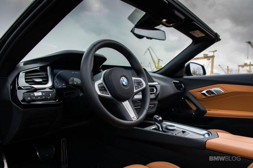 2019 BMW Z4 test drive 32 830x553