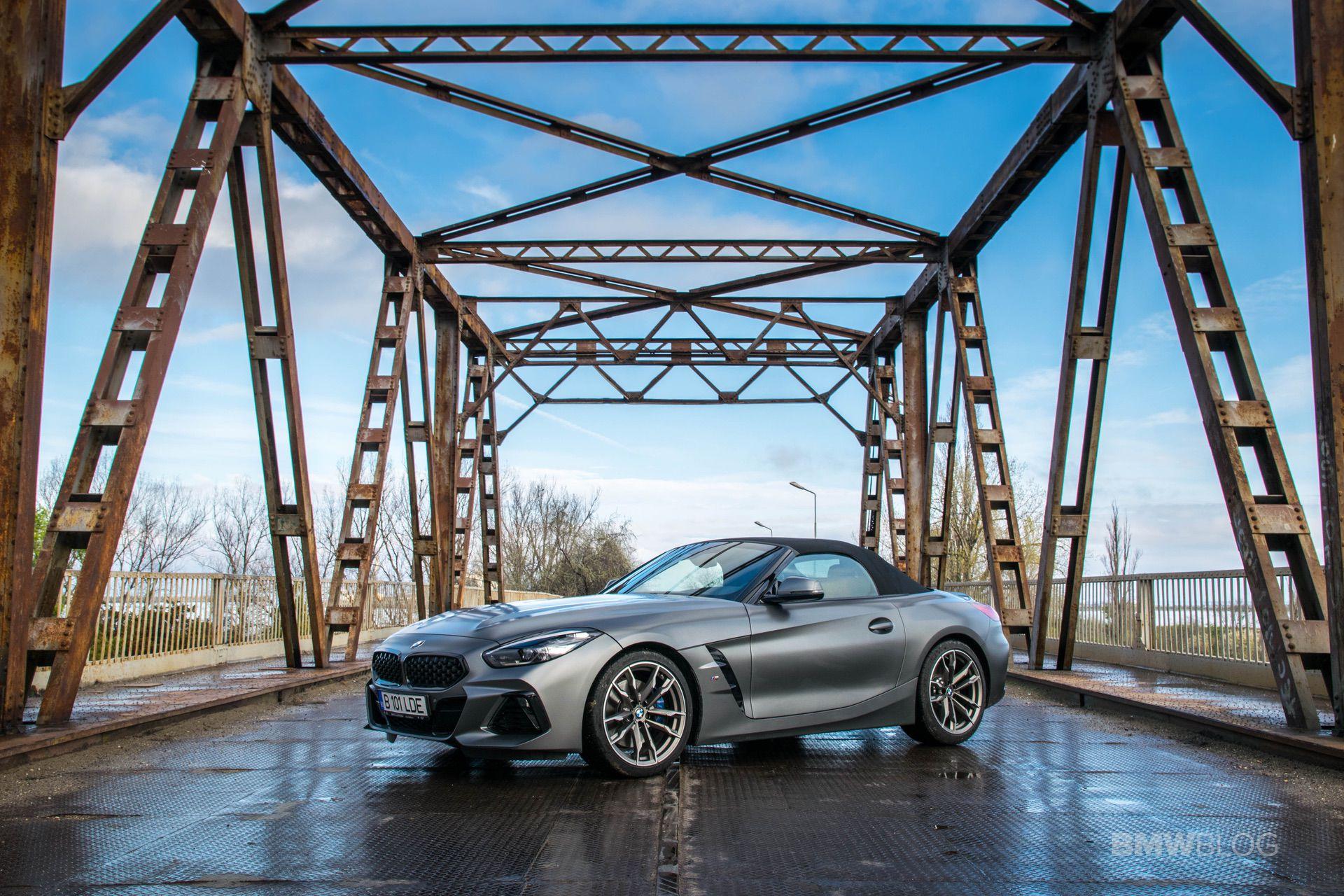2019 BMW Z4 test drive 72