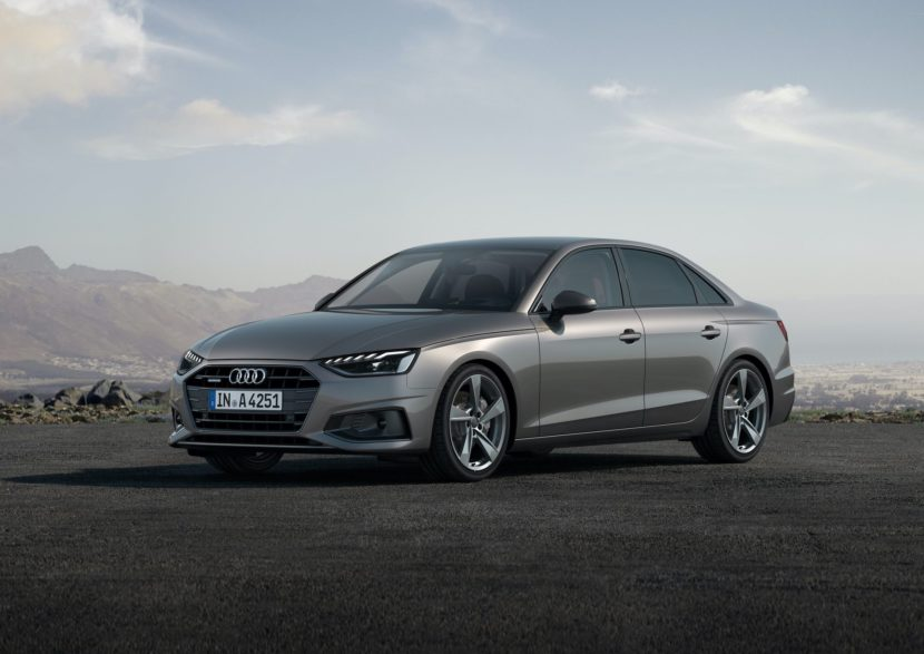 2020 Audi A4 sedan facelift 06 830x587