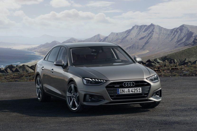 2020 Audi A4 sedan facelift 07 830x553