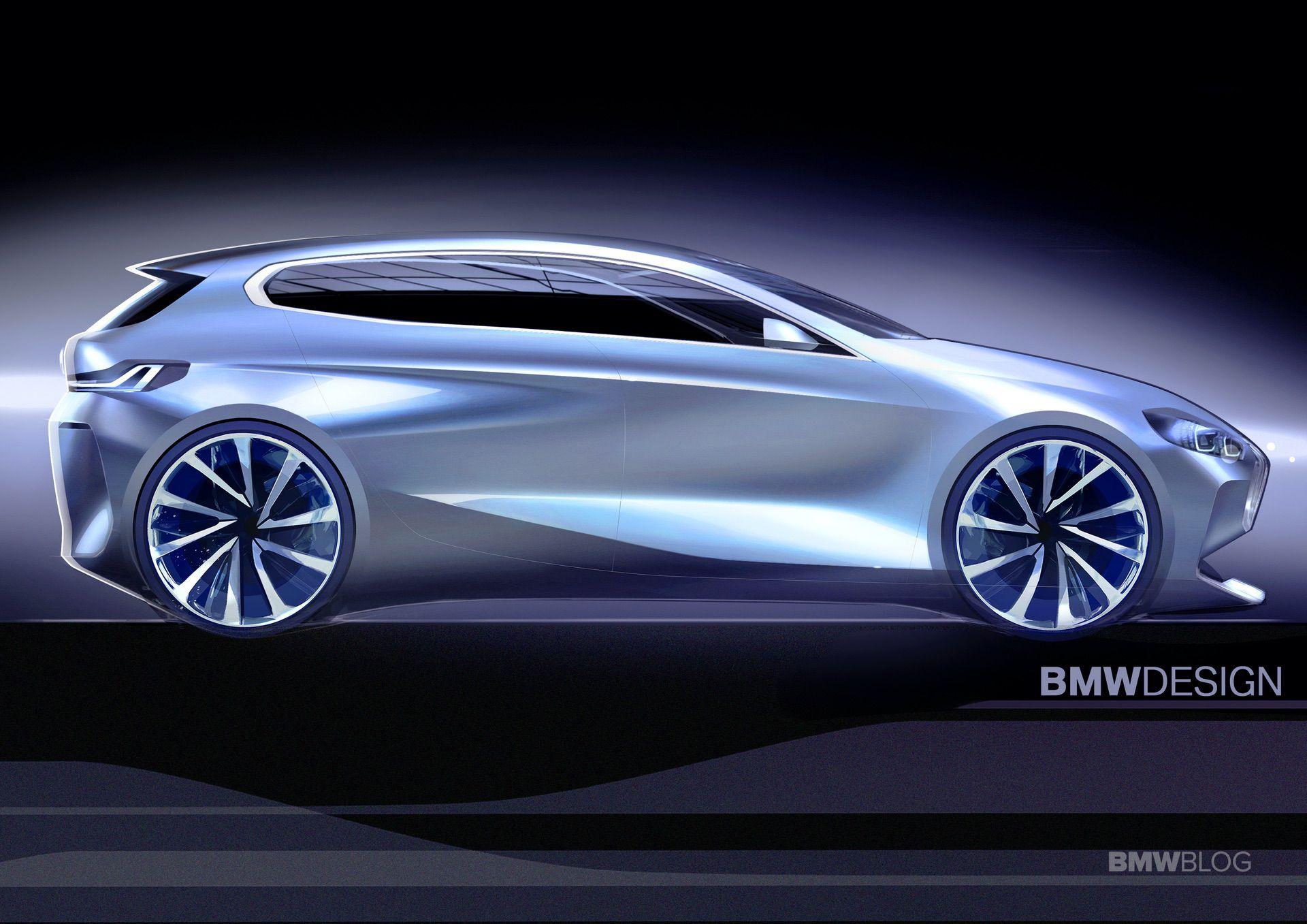 2020 BMW 1 Series Design Sketches 07