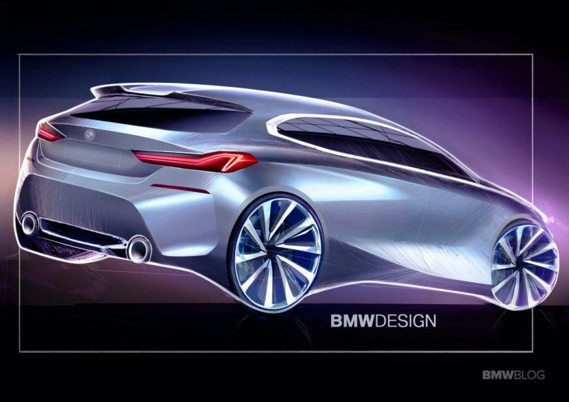 2020 BMW 1 Series Design Sketches 14 830x587