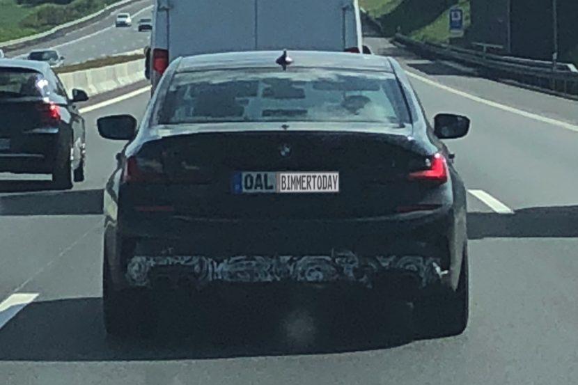 2020 BMW Alpina B3 G20 D3 Erlkoenig Spyshots 02 830x553