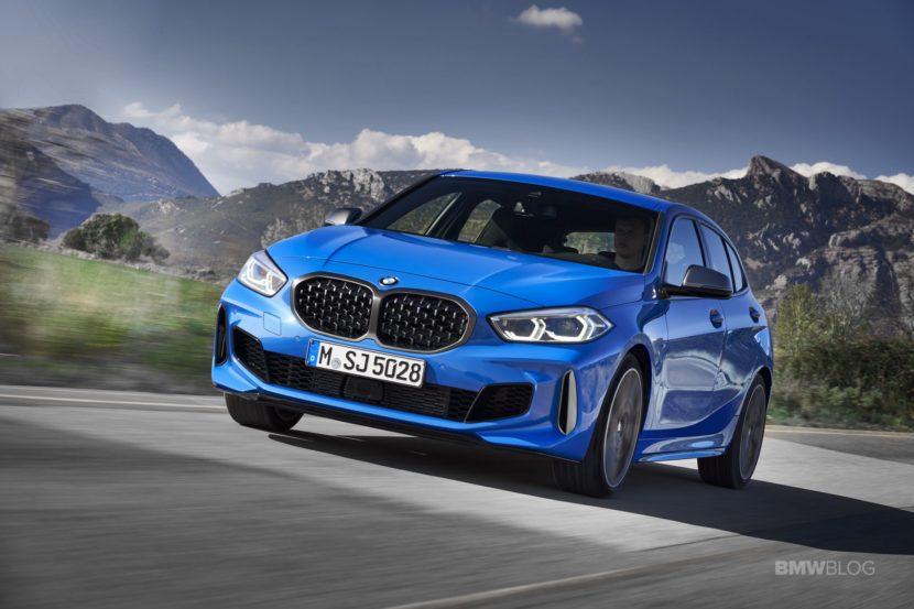 2020 BMW M135i xDrive Misano Blue 13 830x553