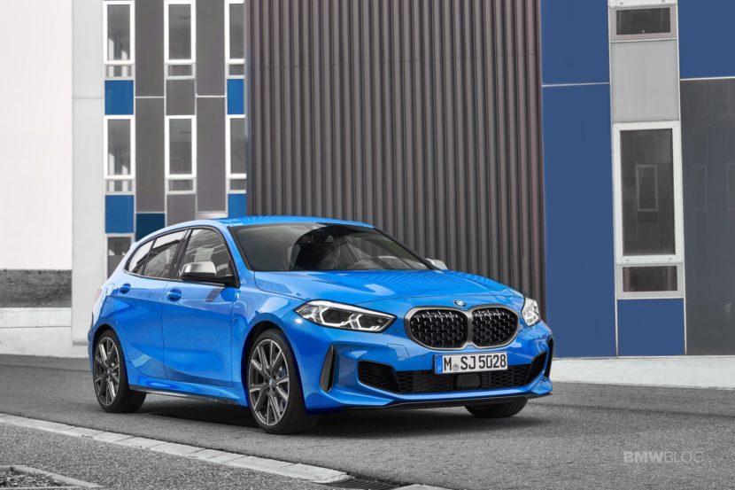 2020 BMW M135i xDrive Misano Blue 23 830x553