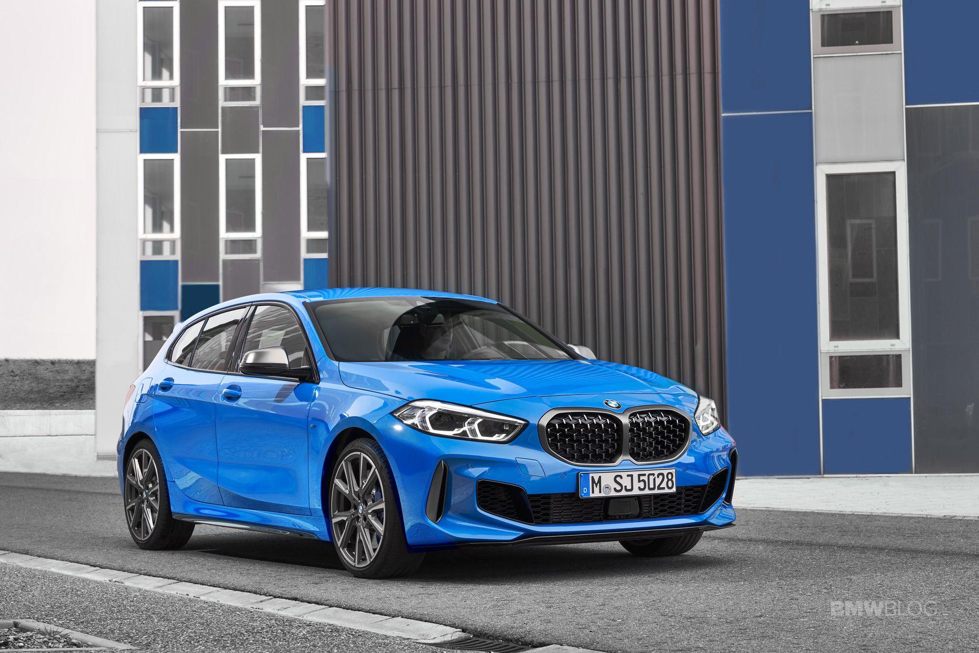 2020 BMW M135i xDrive Misano Blue 23