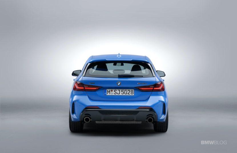 2020 BMW M135i xDrive exterior interior 04 830x538