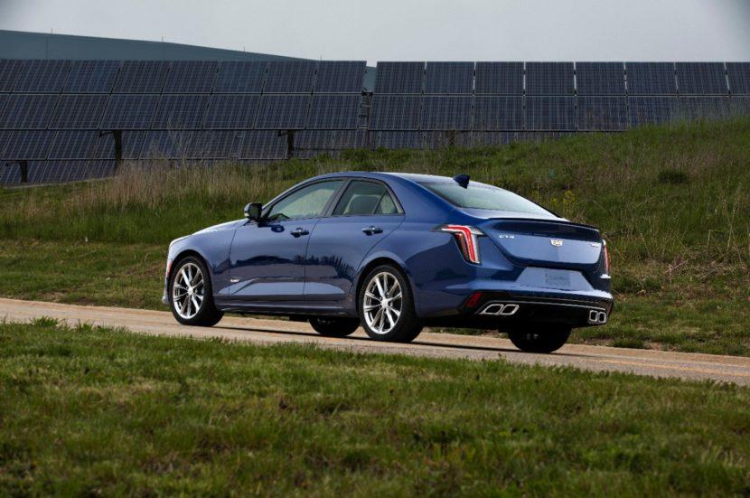 2020 Cadillac CT4 V 002 830x551